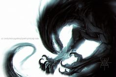Self Arguing by MutantParasiteX Monster Concept Art, Monster Art, Dark Fantasy Art, Fantasy Artwork, Fantasy Creatures, Mythical Creatures, Yatogami Noragami, Creepy Monster, Historia Natural