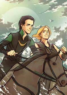 Princes of Asgard by Kibbitzer.deviantart.com on @DeviantArt