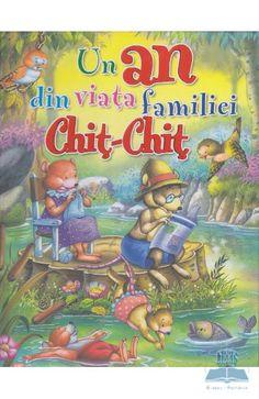 Un an din viata familiei Chit-Chit - 96 pagini Childrens Books, Comic Books, Comics, Reading, Cover, European Countries, Fictional Characters, Czech Republic, Children's Books