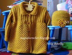 conjunto de trico da Nélia