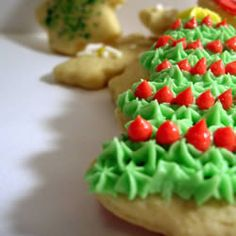 Sugar Cookies with Buttercream Frosting Allrecipes.com