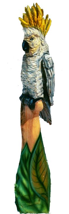 Chainsaw Carvings - Birds