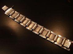 RARE #73  PRINCE SIGVARD BERNADOTTE GEORG JENSEN SIGNED BRACELET STERLING #GeorgJensen #MODERNIST