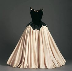 1950s gown