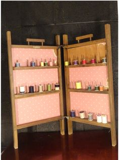 Sew Tidy Folding Thread Spool Cabinet Caddy by PastClassics | Home ...