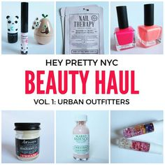 Erster Stopp unserer Beauty-Shopping-Tour in New York? Urban Outfitters. Nicht…