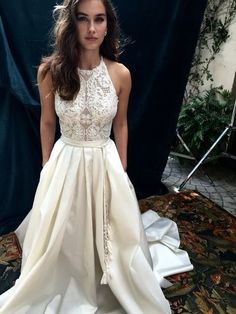 Modest Prom Dress,Lace Prom Dress ,Long Prom Dresses,Evening Dress,Sexy Evening…