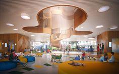 3XN wins competition for children's hospital in copenhagen