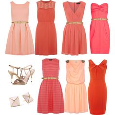 Not opposed to different shades Orange Bridesmaid Dresses, Bridesmaid Dresses Under 100, Bridesmaid Flowers, Bridal Dresses, Private Wedding, Dream Wedding, Semi Casual, Mix Match Bridesmaids, Nice Dresses