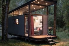 Perfect Tiny Cabins For Living Outdoors Perfect Tiny Cabins For Living Outdoors Extraordinary Tiny House Rental For Couples Near Jackson Hole Tyni House, Tiny House Cabin, Tiny House Living, Tiny House On Wheels, Prefab Tiny House Kit, Tiny House Hotel, Tiny Cabins, Modern Tiny House, Tiny House Design