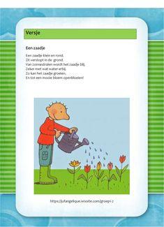 Versje: Een zaadje Classroom, Kids, Blog, Flowers, Yoga For Kids, Class Room, Young Children, Boys, Blogging