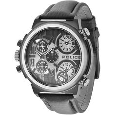 Mens Police Python Chronograph Watch 13595JSB/13