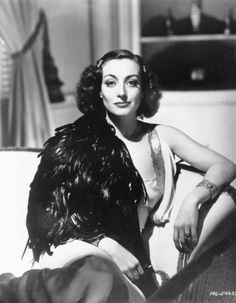 """I never go outside unless I look like Joan Crawford the movie star. If you want to see the girl next door, go next door"". Photography by George Hurrell."