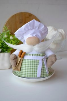 Excited to share this item from my shop: Kitchen gnome baker Chef Gnome Mother's Day gift Cook Chef Scandinavian gnome Kitchen decorations Christmas Gnome, Christmas Crafts, Christmas Decorations, Cooking Photography, Scandinavian Gnomes, Kitchen Decor Themes, Kitchen Ideas, Gifts For Cooks, Fun Cooking
