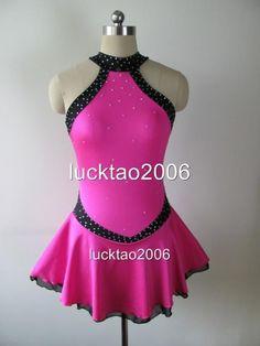 Gorgeous Figure Skating Dress Ice Skating Dress #6354-1