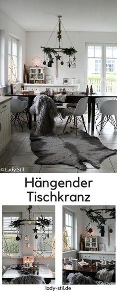 DIY Hängender Tischkranz Aus Einem Hula Hoop Reifen, Ikeahack