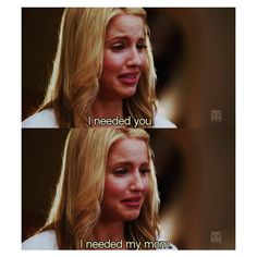 Poor Quinn her mom is scared of her dad and let her dad kick her out for being a pregnant teen Brittany And Santana, Glee Quotes, Quinn Fabray, Laughing Jokes, Dianna Agron, I Need You, Music Videos, Believe, Kicks