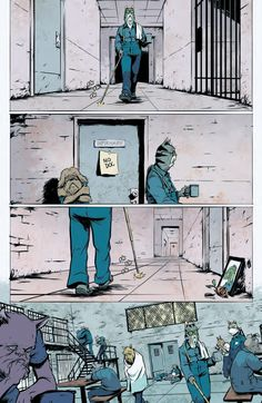 Preview: Kennel Block Blues #3 (of 4), Story: Ryan Ferrier Art: Daniel Bayliss Cover: Daniel Bayliss Publisher: BOOM! Studios Publication Date: April 13th, 2016 Price: $3.99   ...,  #All-Comic #All-ComicPreviews #Boom!Studios #Comics #DanielBayliss #KENNELBLOCKBLUES #previews #RyanFerrier