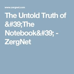 The Untold Truth of 'The Notebook' - ZergNet