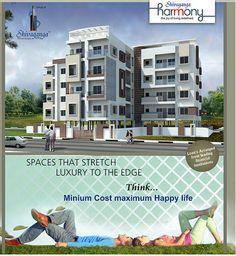 SHIVAGANGA HARMONY  SHIVAGANGA  HARMONY Residential project in South Bangalore 2 & 3 BHK Apartments in Off Kanakapura Main Road.