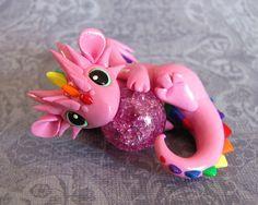 Pink Rainbow Dragon 2