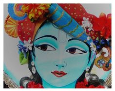 Archival print, wall art, Love, Krishna the Lotus eyed one