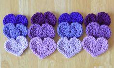 Cute Little Heart Free Crochet Pattern