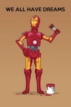 Now that Disney owns both Marvel AND Star Wars...this makes sense... #StarWars