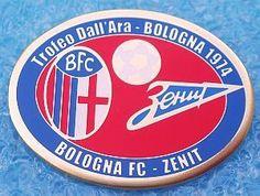 BOLOGNA F.C.-ZENIT Lenigrad -Trofeo Dall'Ara Bologna 74