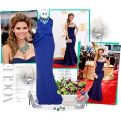 Dress/Blue/Fashion, created by lorniux on Polyvore