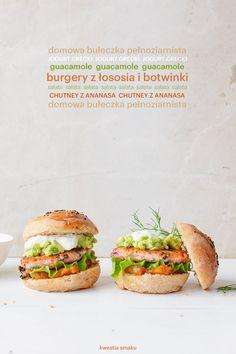 Fitburgery z łososia i botwinki