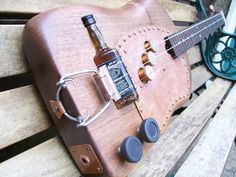 Cigar Box Resonator Part | The Plank 2 - juju's Cigar Box Guitars