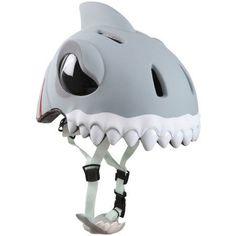 Crazy Safety Kids Shark Bike Helmet, Multicolor