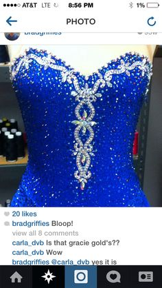 Gracie Gold's 2013 free skate dress