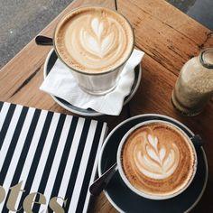 """ohboyyyyy: """"Good morning  One coffee as big as my head please  Instagram: @gabimulder (at Melbourne City) """""""
