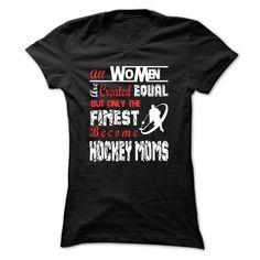 Hockey Mom T Shirts, Hoodies. Check price ==► https://www.sunfrog.com/LifeStyle/Hockey-Mom-39055436-Ladies.html?41382