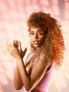 Best Long Hairstyles: Whitney Houston #hair