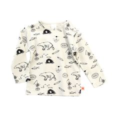 Tundra Story Tee - Tinycottons Online - Hibernation collection - Baby Kids Teens Webshop Goldfish.be