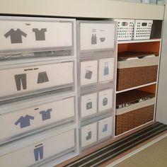 押入れ収納 : 工夫がいっぱい!ベビー用品収納術 【100均】【無印】【IKEA】 - NAVER まとめ