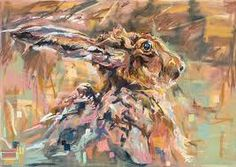 Image result for brown hare art