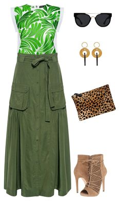 Untitled #2983 by elia72 on Polyvore featuring polyvore, fashion, style, Markus Lupfer, Marissa Webb, Steve Madden, Clare V., Marni, Quay and clothing #elia72