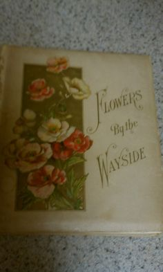 This is a beautifully illustrated book of text and hymns with gorgeous floral illustrations. The pages are beautiful. The book as a whole is