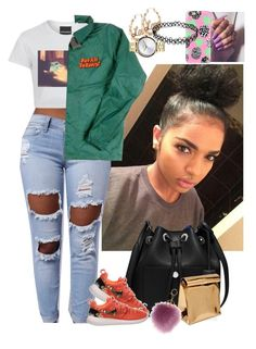 """Untitled #3281"" by astoldby-kay ❤ liked on Polyvore featuring MICHAEL Michael Kors, NIKE, Casetify, Nixon and Yesimfrench"