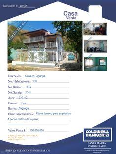 Casa en venta - Taganga- Santa Marta- Colombia