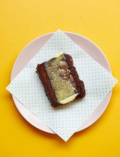 Oat milk, tahini and super-ripe bananas keep this egg-free, dairy- free banana bread moist and moreish. If you can't find dark tahini, use regular tahini Vegan Lunch Recipes, Oats Recipes, Vegan Breakfast Recipes, Chef Recipes, Smoothie Recipes, Baking Recipes, Vegan Desserts, Dairy Free Banana Bread, Vegan Dinner Party