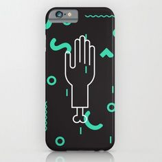 Abstract Severed Hand for iPhone 6 Case