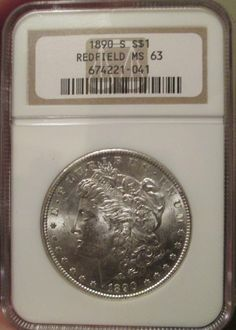 88 Best Redfield Silver Dollars images in 2016 | Coin bag, Coins, Ms