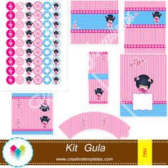 Kit festa imprimir - Printable Party