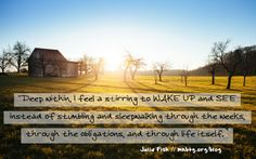 Every day matters -- great advice from Julie Fisk // mnbtg.org/blog