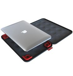 Amazon.com: Hard Candy Case for Apple Macbook Air 13-inch and Thin Ultrabooks - Bubble Sleeve, Black: Computers & Accessories